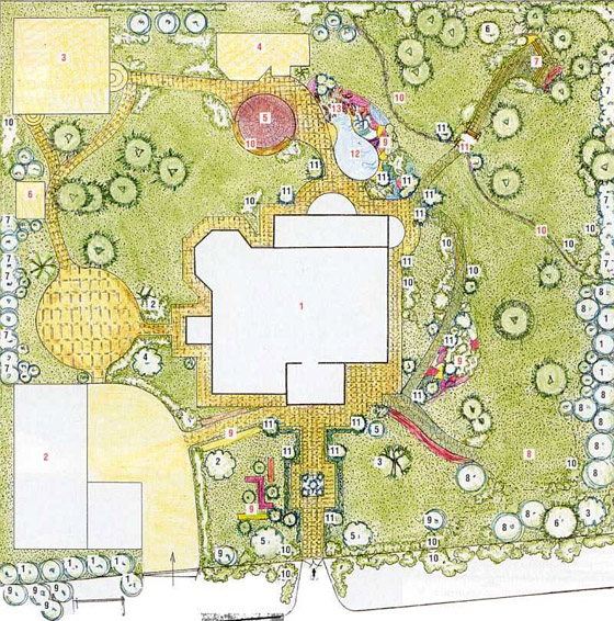 conception de jardin 1