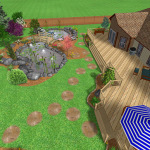 Projekt Ogrodu Kęty